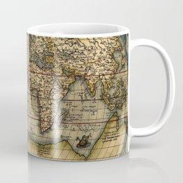 Old World Map print from 1564 Coffee Mug