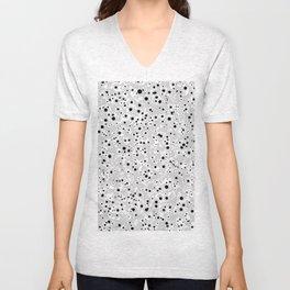 black spots Unisex V-Neck
