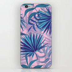 pink tropic  iPhone Skin