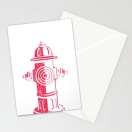 I'd Tap That Fire Hydrant  Stationery Cards