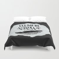 brave Duvet Covers featuring Brave by Chrystal Elizabeth