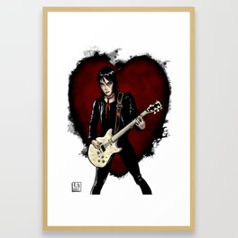 Joan Jett & the Black Hearts Framed Art Print