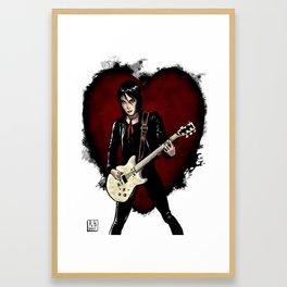 Joan Jett & the Black Hearts Framed Art Print
