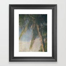 Paradise Palms Framed Art Print
