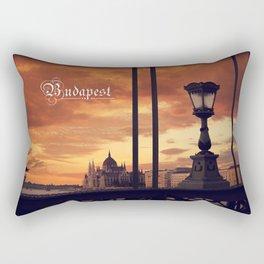 Around the world in 80 photos | Budapest  Rectangular Pillow