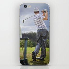 The Perfect Swing iPhone Skin