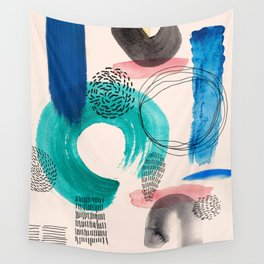 Form Combination P1 Wall Tapestry