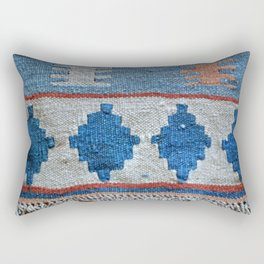 afghani kilim Rectangular Pillow