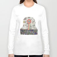 polaroid Long Sleeve T-shirts featuring Polaroid by monicamarcov
