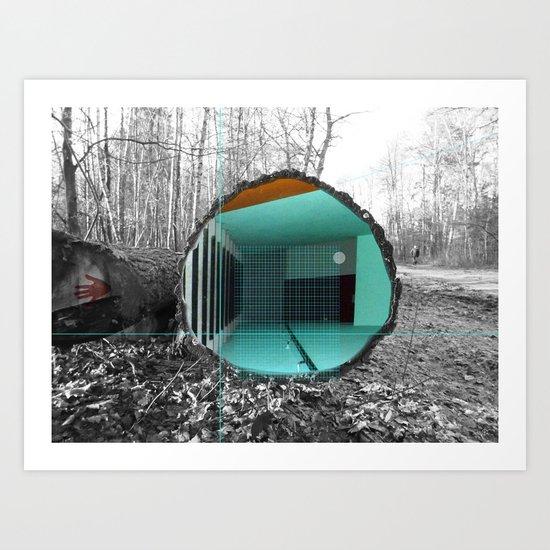 Woody´s Entrance 1b Art Print