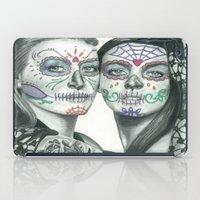 lindsay lohan iPad Cases featuring Meryl Streep and Lindsay Lohan  by Jimmy Lee