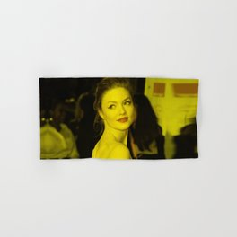 Holiday Grainger - Celebrity (Photographic Art) Hand & Bath Towel
