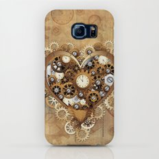 Steampunk Heart Love Slim Case Galaxy S7