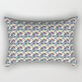 Birds - Deeppink Rectangular Pillow