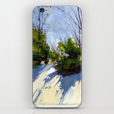 Shadows in the Snow iPhone & iPod Skin
