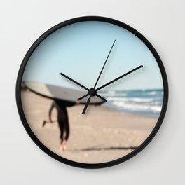 Boarding Wall Clock