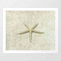starfish Art Prints featuring Starfish by Deborah Lehman