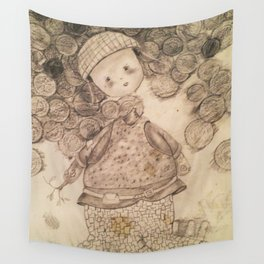 Off to War Wall Tapestry