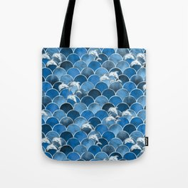 Wave Jumpers (Blue) Tote Bag