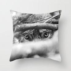 Wild Eyes Wolf Edition Throw Pillow