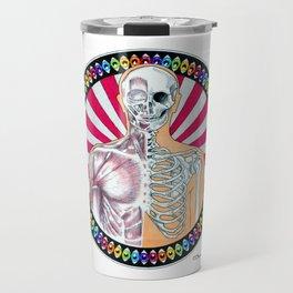 Psychedelic Anatomy Travel Mug