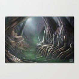 Ancient Husk Canvas Print