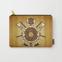 d20 Viking Warrior Carry-All Pouch