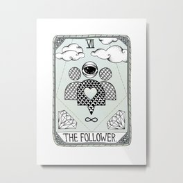 The Follower Metal Print