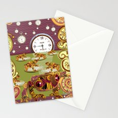 Freddie Croaker and the Clockworks Moonlight Sonata. Stationery Cards