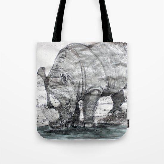 Rhinocerotidae Tote Bag