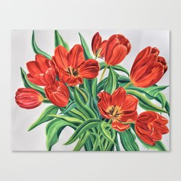 Wild Tulips Canvas Print