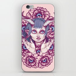 Faun in the Garden iPhone Skin