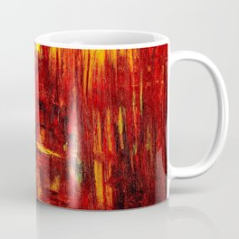 """""""Summer on the Delta"""" Abstract Acrylic by Noora Elkoussy Coffee Mug"""