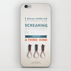 The Third Kind iPhone & iPod Skin