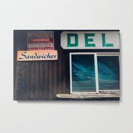 Deli Sandwiches Metal Print