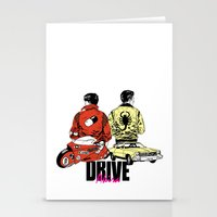 akira Stationery Cards featuring Drive / Akira  by KScully