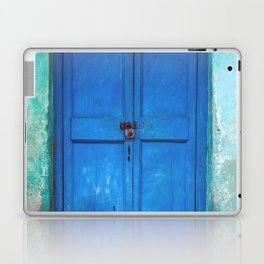 Blue Indian Door Laptop & iPad Skin