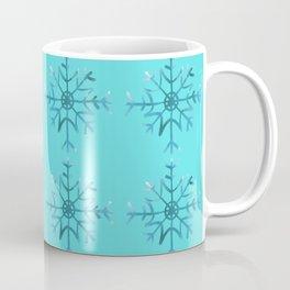 Winter/Christmas - Snow Crystals V.8 Coffee Mug