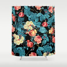 NIGHT FOREST XII Shower Curtain