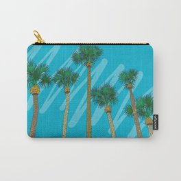 Warm Welcome from Florida Palm Tree Carry-All Pouch