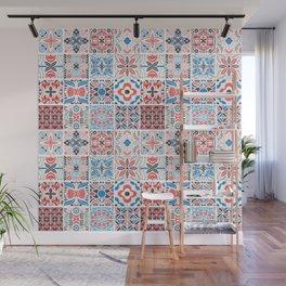 vintage tiles 2 Wall Mural