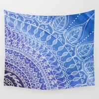 zen Wall Tapestries featuring Zen by Soul Flow Creations