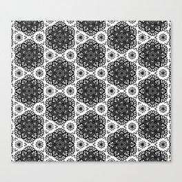 Mandala pattern Canvas Print