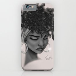 Hoops and Scarf iPhone Case