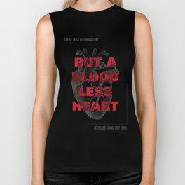 Bloodless Heart Biker Tank