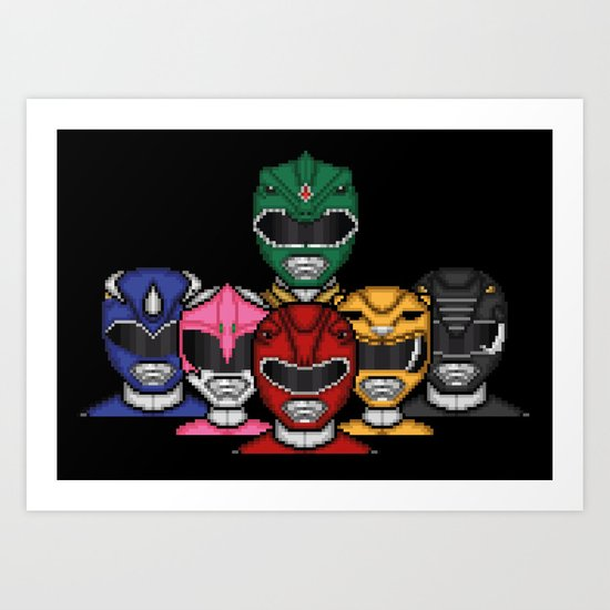 It's Morphin' Time! Art Print