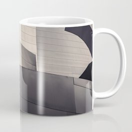Architectural abstract, Black and White, LA Philharmonic, Architect: Frank Gehry Coffee Mug