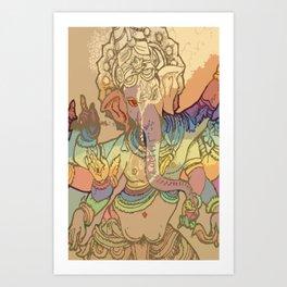 XXXO Art Print