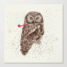 Mr.Owl III Canvas Print