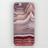 agate iPhone & iPod Skins featuring Agate Crystal by Santo Sagese